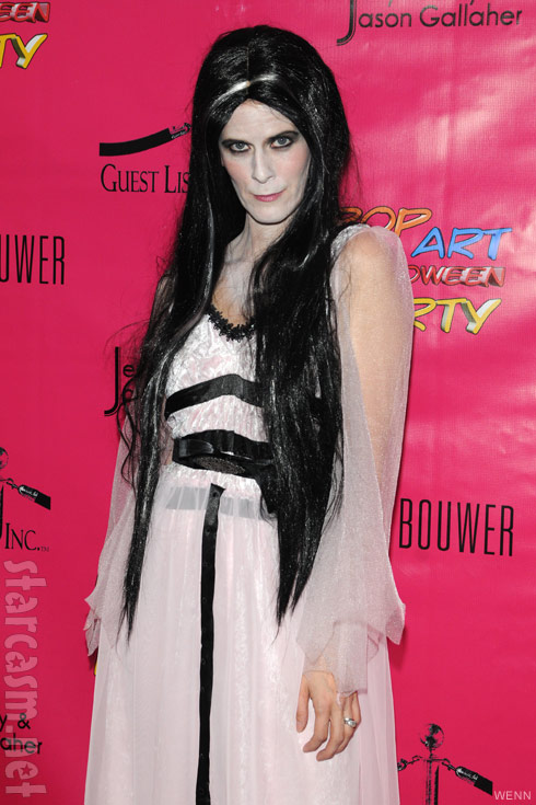 Alex McCord Lily Munster Halloween costume