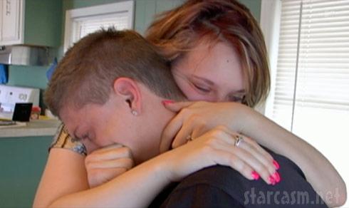 Catelynn Lowell and Tyler Baltierra share an emotional moment on Teen Mom