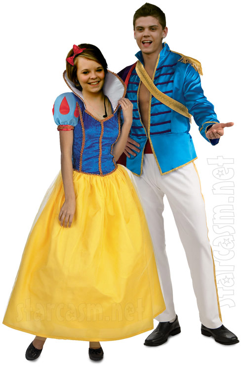 PHOTO Teen Mom Halloween costumegery Catelynn and Tyler as Snow White and Prince Charming  sc 1 st  Starcasm & PHOTO Teen Mom Halloween costumegery: Catelynn and Tyler as Snow ...