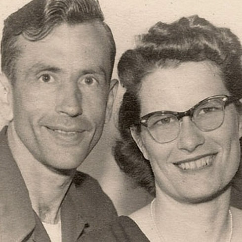 Norma Yeager and Gordon Yeager were married 72 years
