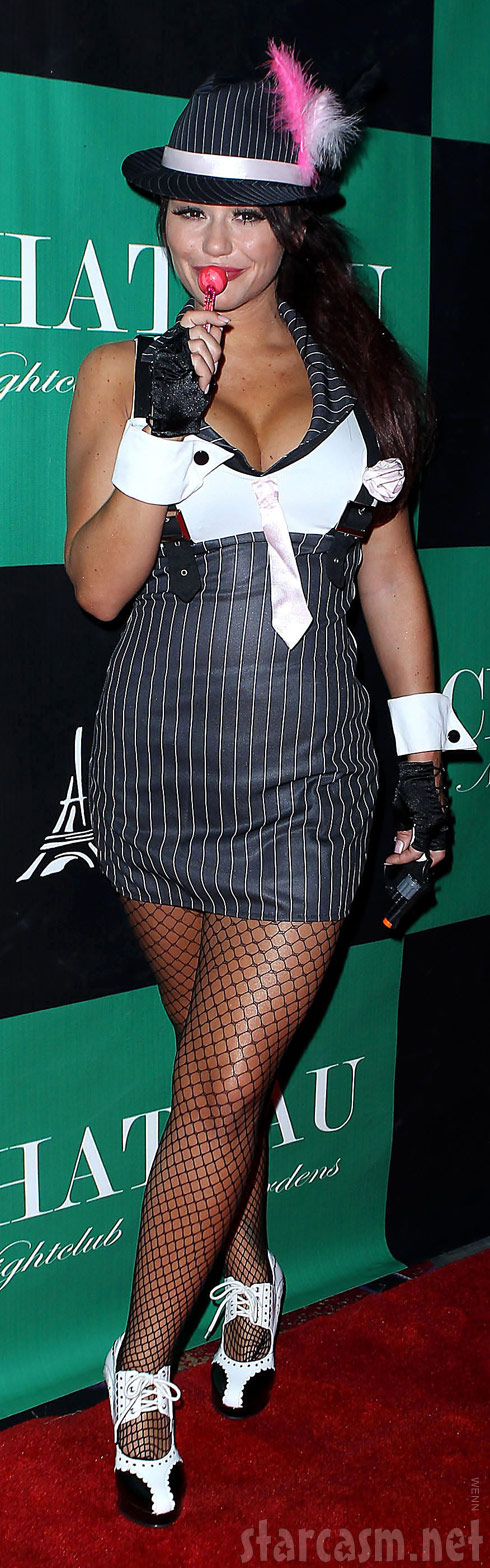 JWoww sexy Halloween costume photo 2011
