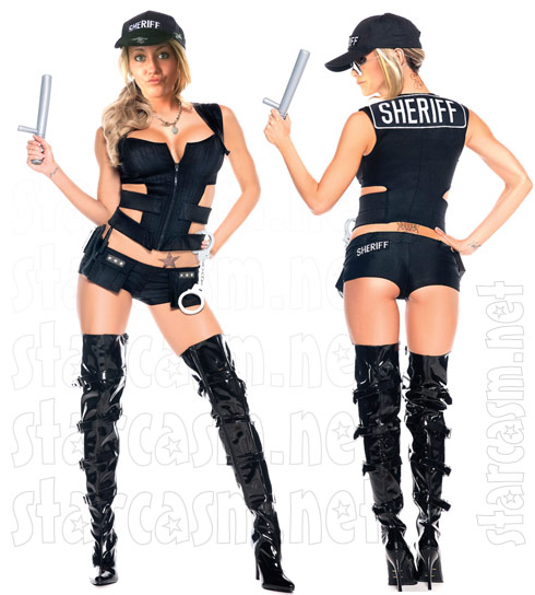 Teen Mom 2 Jenelle Evans will be wearing this sexy sheriff Halloween costume this year