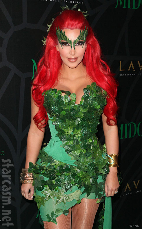 Kim Kardashian's 2011 Halloween costume Poison Ivy