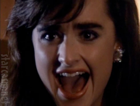Kyle Richards screaming in the movie Curfew