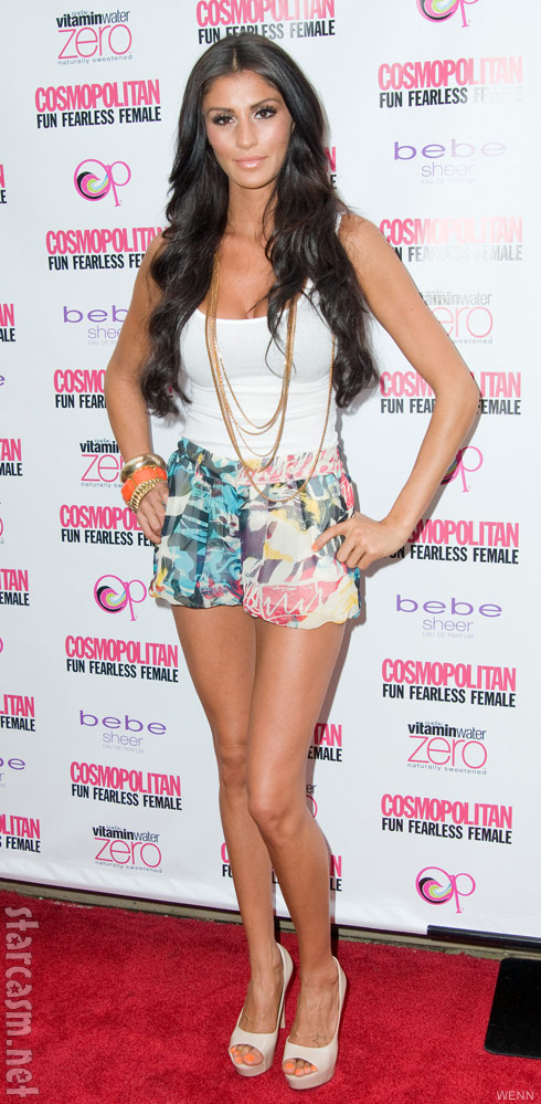 Bad Girls Club's Morgan Brittany Osman who allegedly slept with Ronnie Ortiz-Magro
