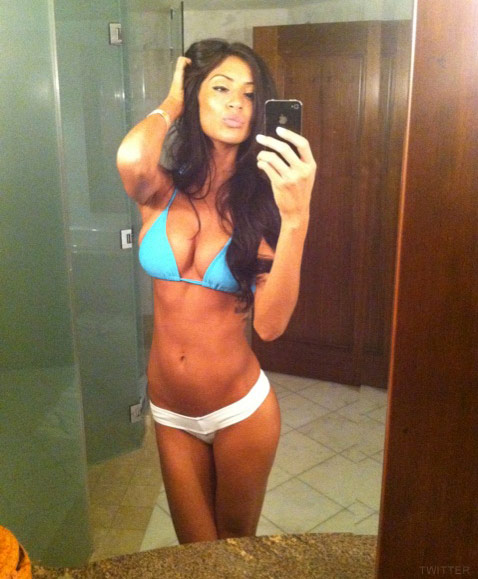 Bad Girls Club Morgan Brittany Osman sexy bikini photo