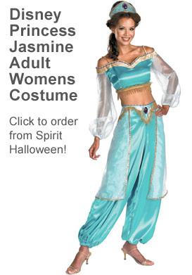 Aladdin Princess Jasmine Halloween costume sexy
