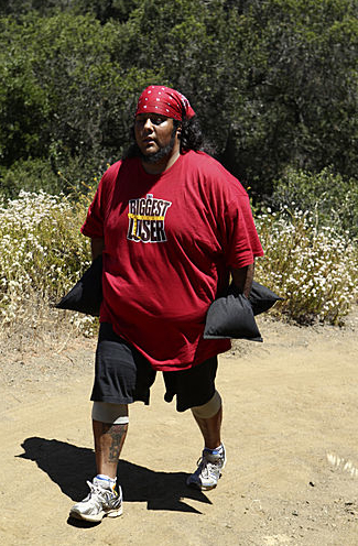 Ramon Medeiros Biggest Loser 12 Hiking