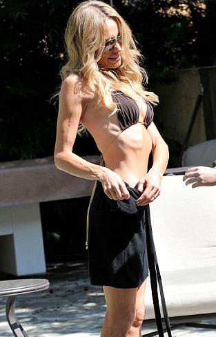 Taylor Armstrong too thin