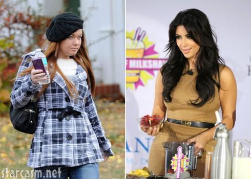 Teen Mom Amber portwood and Kim Kardashian