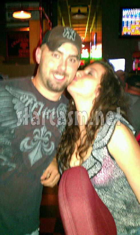Teen Mom's Corey Simms gets kissed by rumored new girlfriend Elizabeth Norman