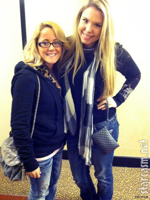 Teen Moms Jenelle Evans and Kailyn Lowry lookin' fine in New York City