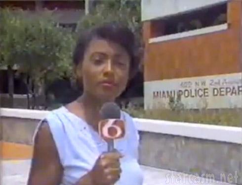 Joyce Evans Miami reporter sign off viral video clip WCIX