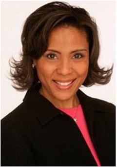 Philadelphia news co-anchor Joyce Evans