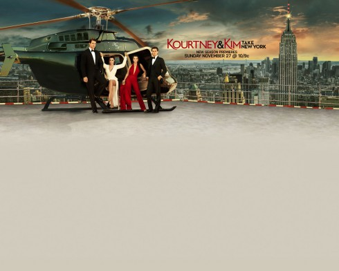 Kourtney and Kim Take New York SEason 2 wallpaper photo