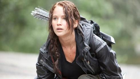 Jennifer Lawrence Katniss Everdeen Hunger Games movie  Lionsgate