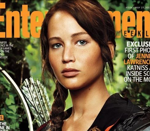 Jennifer Lawrence Katniss Everdeen Hunger Games Entertainment Weekly