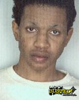 Oneal Morris mug shot photo from grand theft motor vehicle arrest in 2001