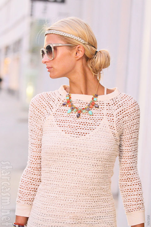 Paris Hilton is stunning on the streets of Beverly Hills