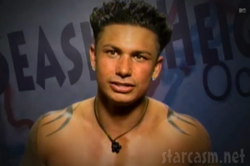 Pauly D gets his face burned from tanning