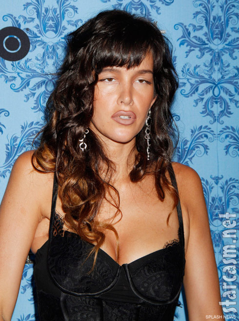Paz de la Huerta who plays Lucy Danziger on Boardwalk Empire