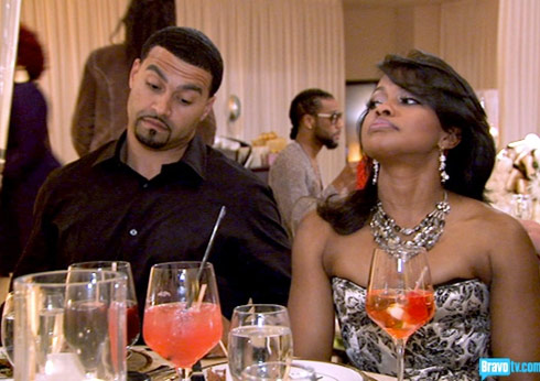 Real Housewives of Atlanta's Phaedra Parks with husband Apollo Nida