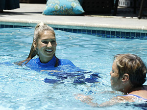 Anna Kournikova Bonnie Griffin Biggest Loser Season 12