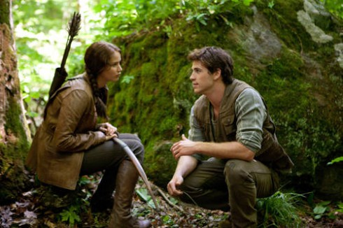 Jennifer Lawrence Liam Hemsworth Hunger Games movie Katniss Everdeen