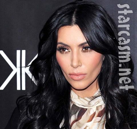 Kim Kardashian sad