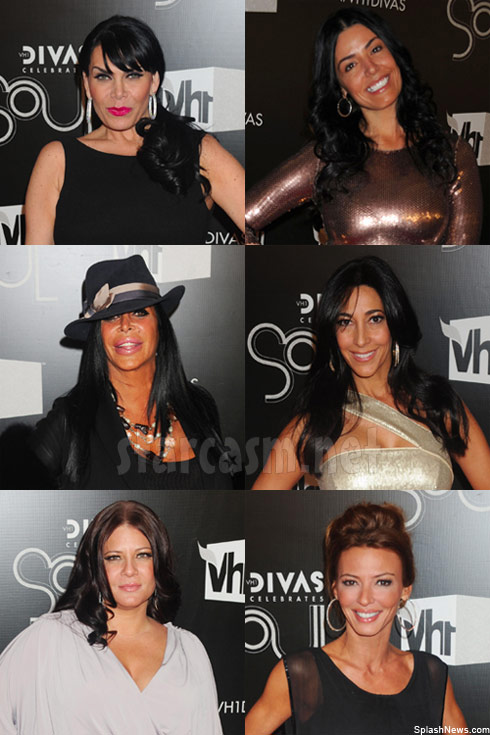 The 6 ladies from VH1 Mob Wives