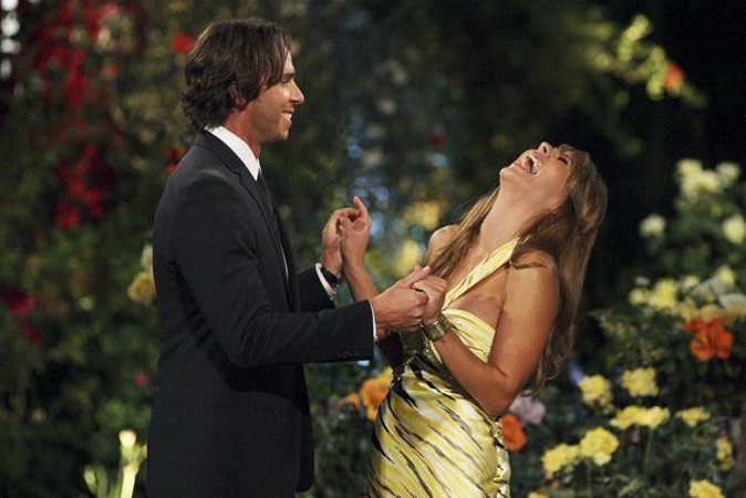 Amber T meets The Bachelor Ben Flajnik for the first time