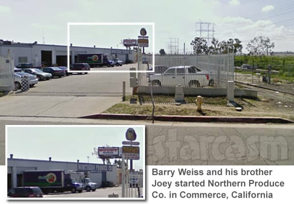 Storage Wars Barry Weiss business Northern Produce