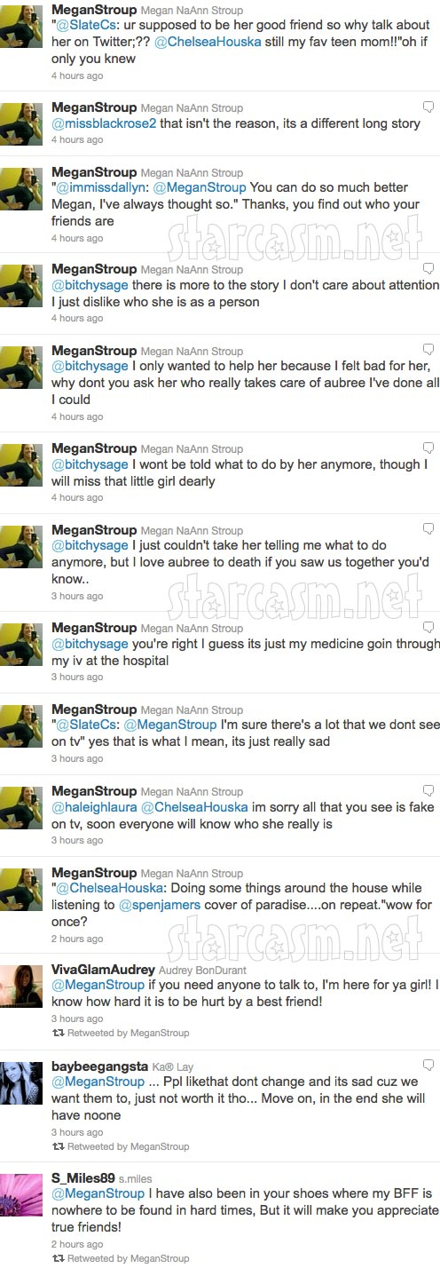 Megan Stroup's angry tweets towards Teen Mom 2 star Chelsea Houska part 3