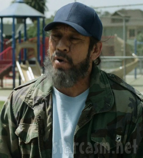 """Danny Trejo as character loosely based on Thomas """"Epic Beard Man"""" Bruso."""