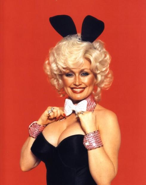 Dolly Parton Playboy image