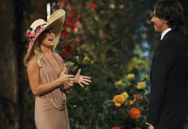 The Bachelor 16 contestant Holly meets Ben Flajnik for the first time in episode 1