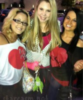Jenelle Evans, Kailyn Lowry and Heather Inman model their Pasion apparel shirts