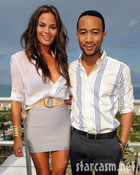 Chrissy Teigen and John Legend engaged