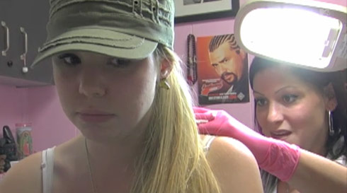 Teen Mom Kailyn Lowry tattoo bonus scene