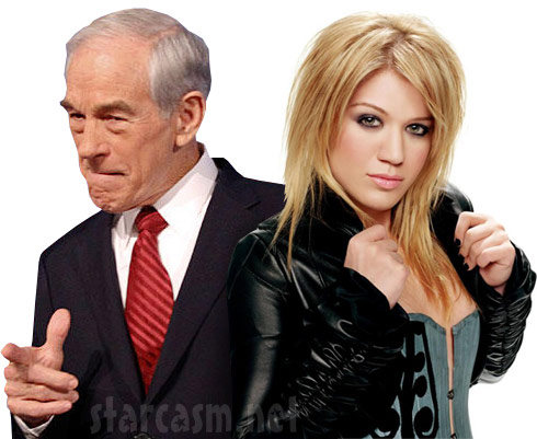 Kelly Clarkson is a Ron Paul supporter