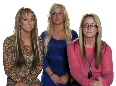 Teen Mom 2 Us video Leah Messer Chelsea Houska Jenelle Evans