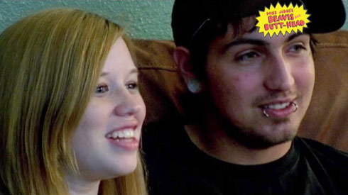 Beavis and Butt-head watch Megan McConnell and Nathan Stone from 16 and Pregnant