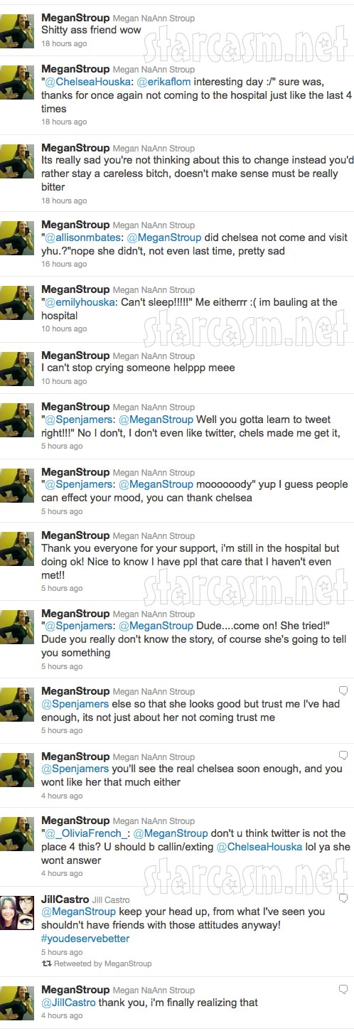 Megan Stroup's angry tweets towards Teen Mom 2 star Chelsea Houska part 2