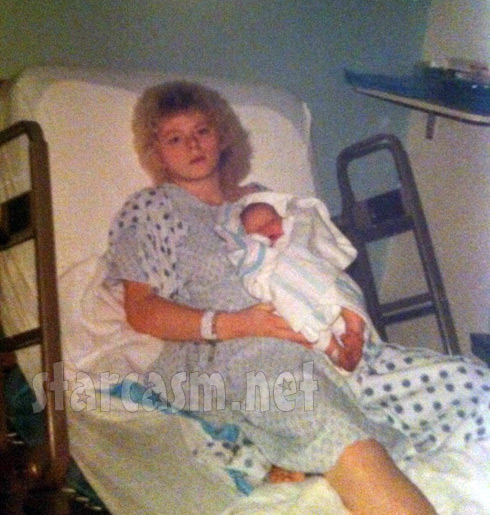 Momma Dawn Spears on the day she gave birth to daughter Leah Messer