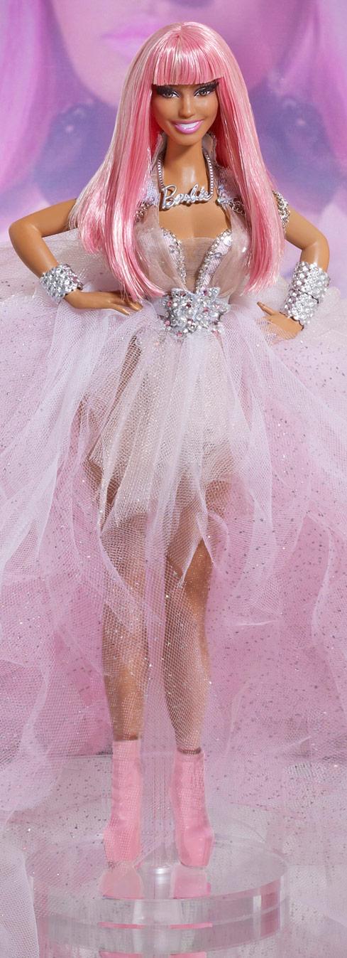 Large photo of the Nicki Minaj one of a kind Barbie doll by Mattel