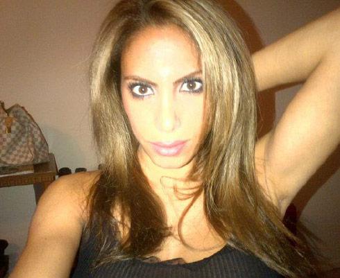 Nina Bazzy Aliahmad with brown hair