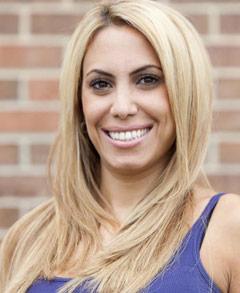 Blond Nina Bazzy Aliahmad from All-American Muslim
