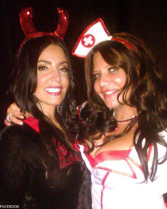 Mob Wives Ramona Rizzo and Karen gravano Halloween