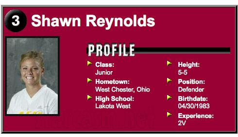 The Bachelor's Shawn Reynolds Arizona State University soccer profile