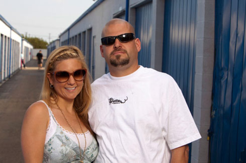 The sexy Brandi Passante and Jarrod Shulz from Storage Wars